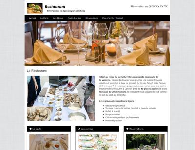 Site de démo - Restaurant